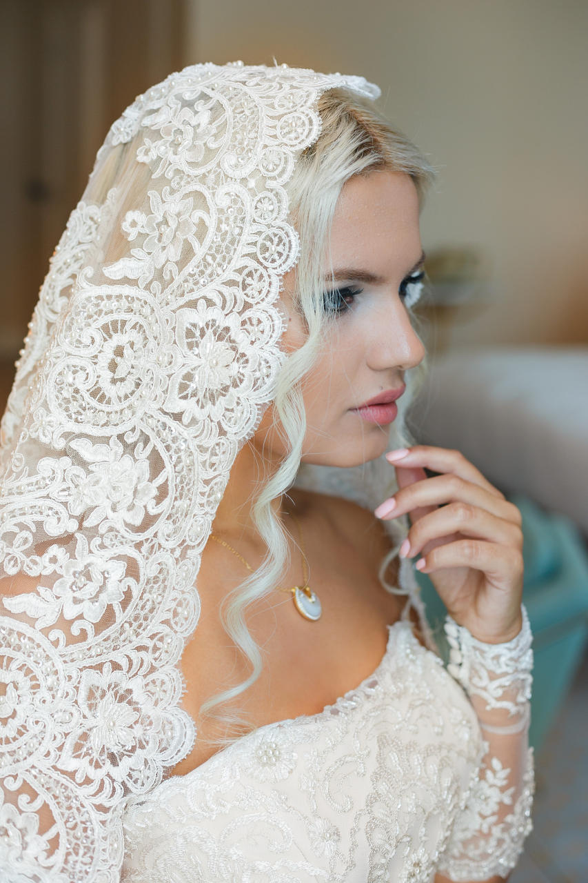 Макияж для невесты блондинки фото