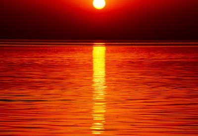 "Потрясающий закат на Мингячевирском водохранилище <span class=""color_red"">- ФОТОРЕПОРТАЖ </span>"