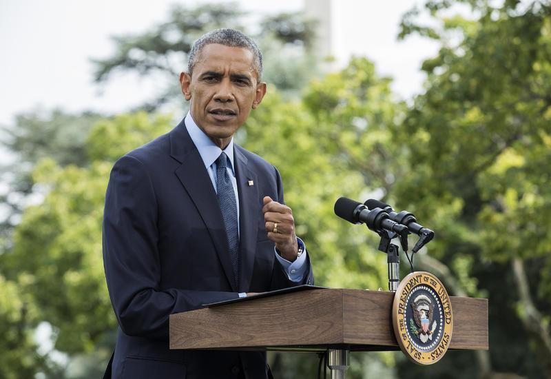 Обама призвал Путина перестать атаковать умеренную оппозицию в Сирии