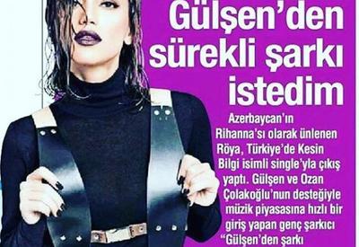 "Ройа попала в центр внимания турецких СМИ <span class=""color_red"">- ФОТО</span>"