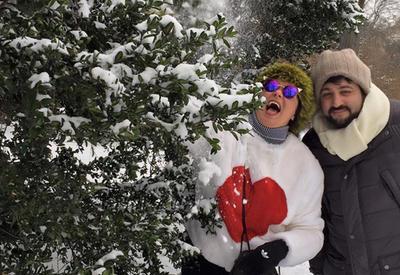 """Зимние каникулы Анны Нетребко и Юсифа Эйвазова <span class=""""color_red"""">- ФОТО</span>"""