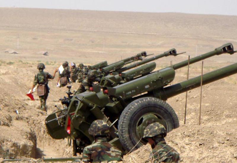 Армяне задействовали на фронте крупнокалиберные пулеметы