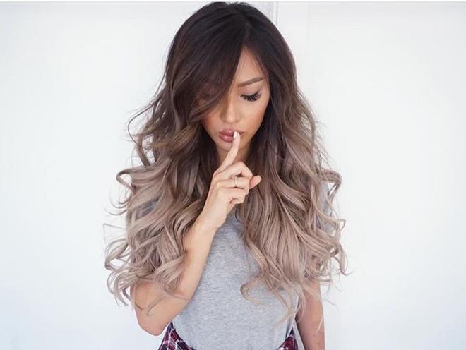 цвет волос мода 2016 фото