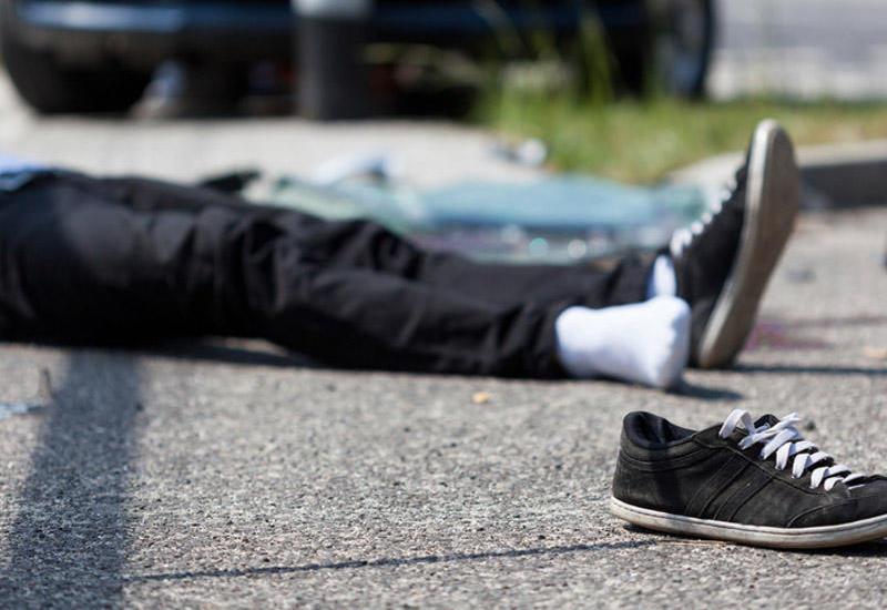 Bakıda sürücü piyadanı vurub öldürdü, izi itirmək istədi