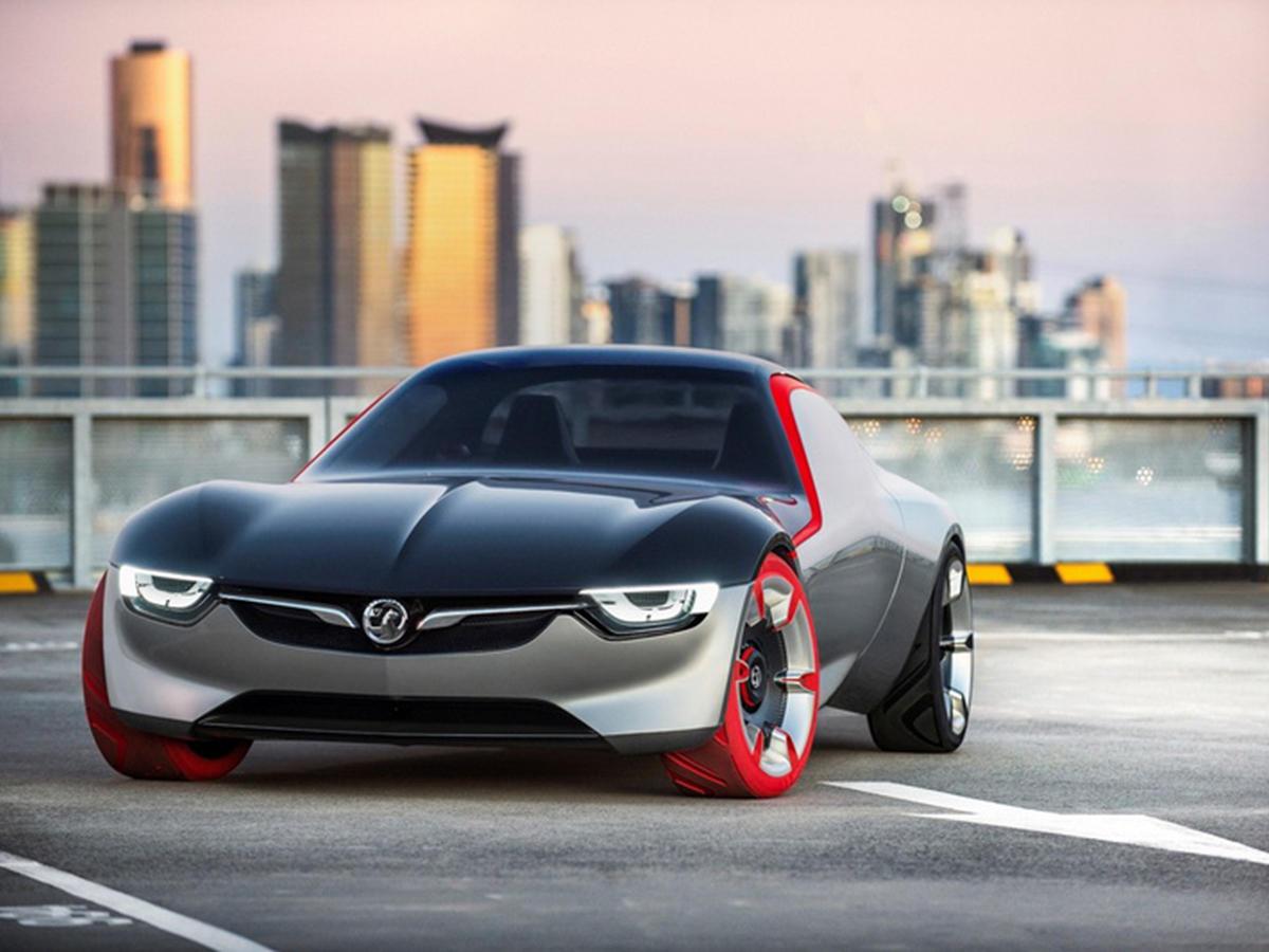 Opel представил прообраз своего нового спорткара GT