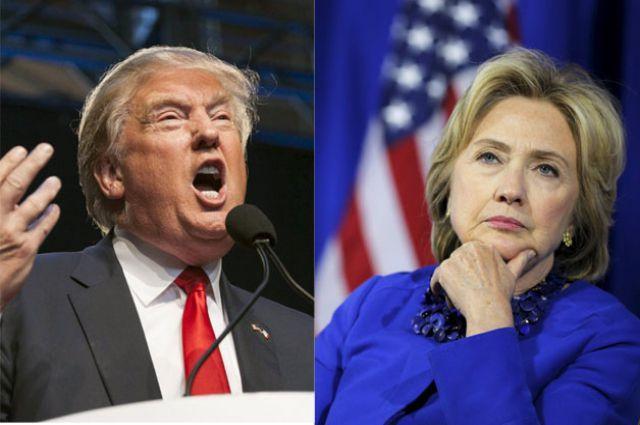 Трамп уступает, Клинтон добилась ничьей— Голосование вАйове