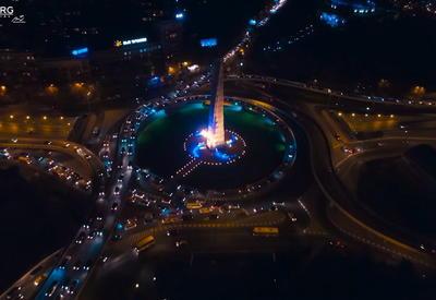 """Поразительный Тбилиси с высоты птичьего полета <span class=""""color_red"""">- ВИДЕО</span>"""