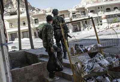 Сирия запустила снаряды по Турции