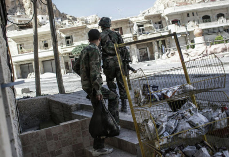 """Боевики """"ИГ"""" захватили газовое месторождение в Сирии"""