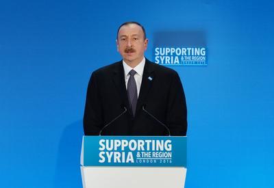 """Президент Ильхам Алиев: """"Азербайджан будет продолжать играть свою важную роль"""" <span class=""""color_red"""">- ФОТО</span>"""