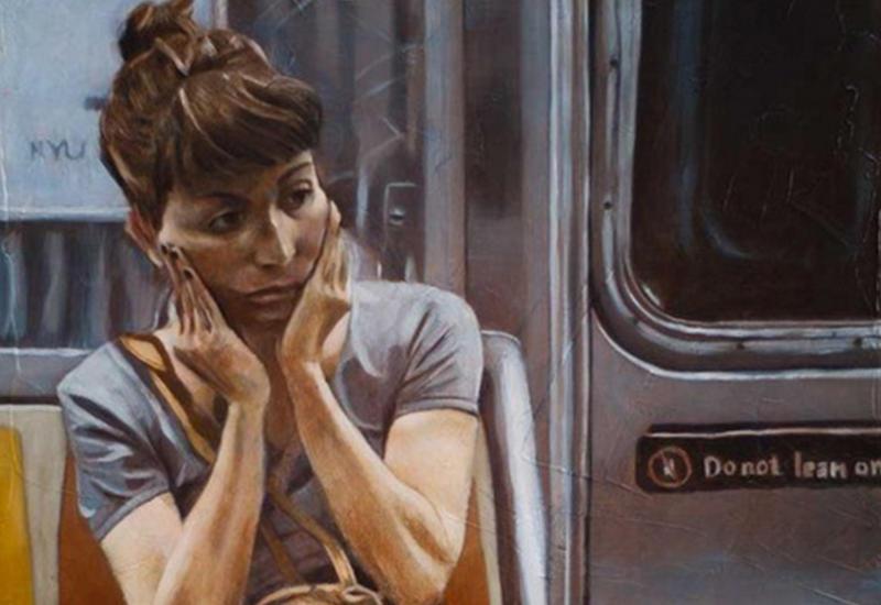 """""""Картинная галерея"""" Day.Az: Люди в метро <span class=""""color_red"""">- ФОТО</span>"""