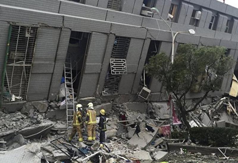 Число жертв землетрясения на Тайване перевалило за сотню