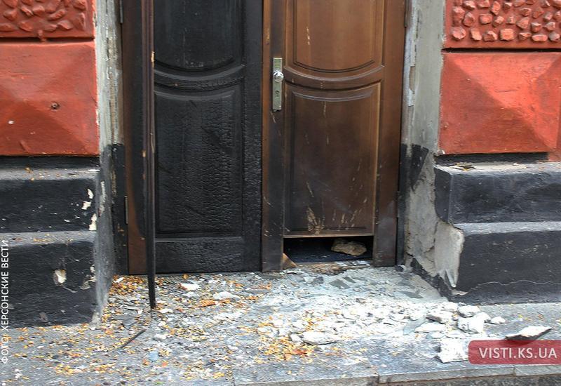 Полиция подтвердила взрыв в офисе крымских татар под Херсоном