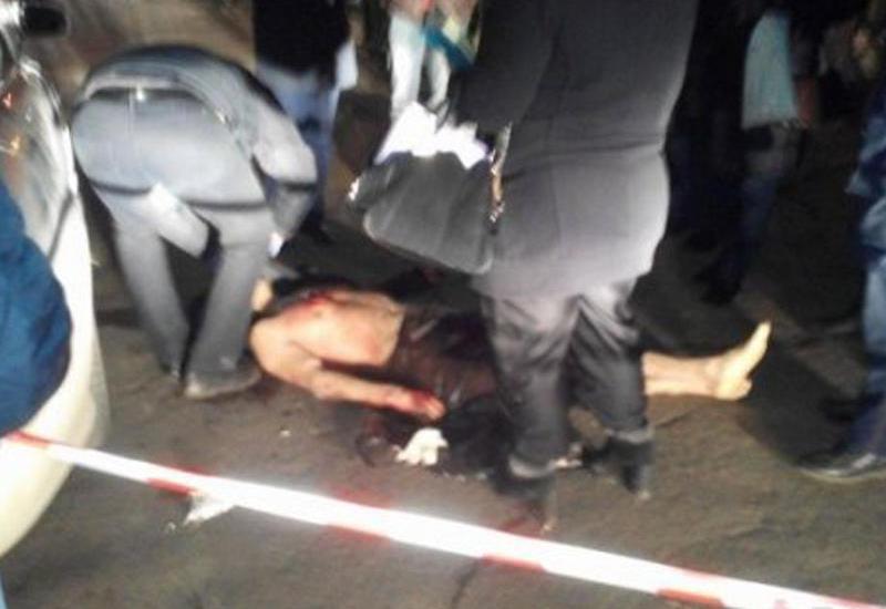 Vəhşi cinayət: kameralar önündə 32 yaşlı azərbaycanlını qətlə yetirdilər