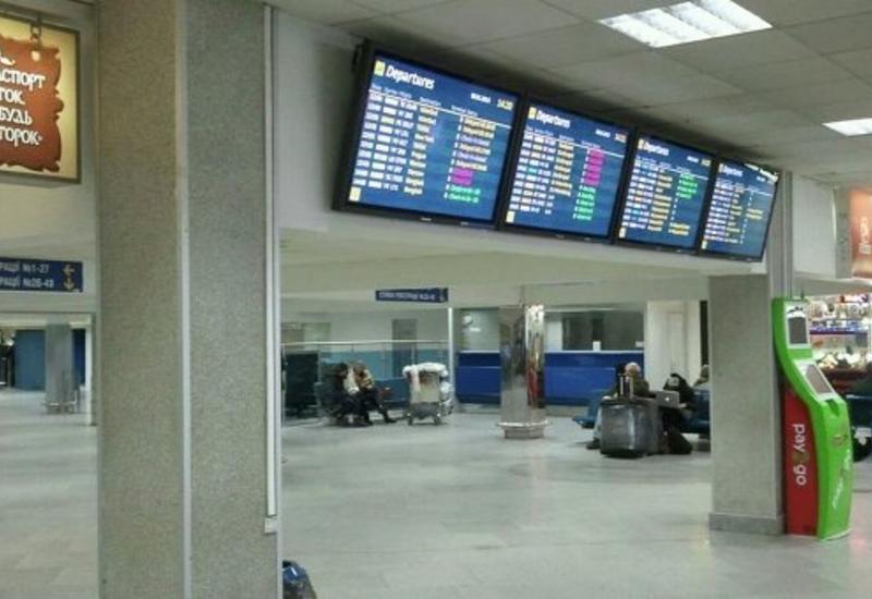 """Рейс """"Киев-Тбилиси"""" задержали из-за мужчины, назвавшегося террористом"""