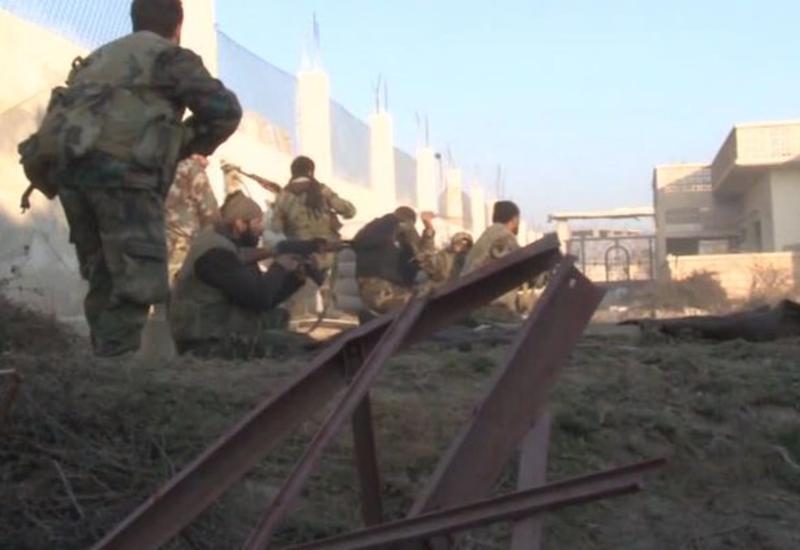 """Солдаты Асада уничтожили командный центр """"ИГ"""""""