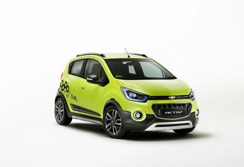 "Chevrolet превратил компакт-кар Spark в кроссовер и седан <span class=""color_red"">- ФОТО</span>"