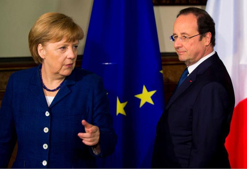 Меркель и Олланд обсудили миграционный кризис