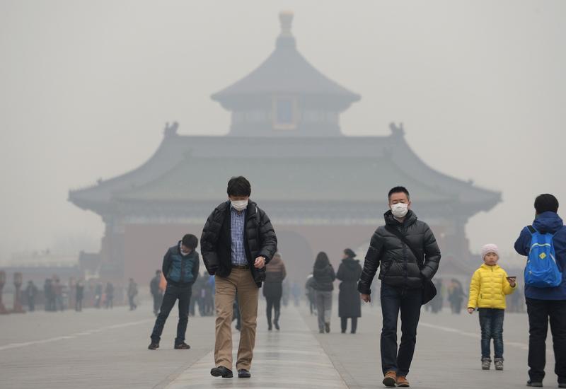 """В Пекине стало трудно дышать из-за ядовитого смога <span class=""""color_red"""">- ВИДЕО</span>"""