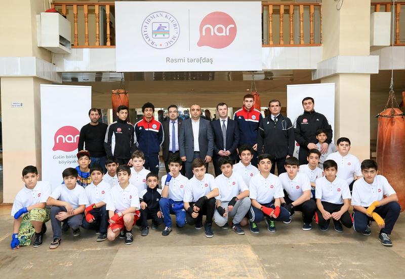 Nar организовал тренировки по профессиональному боксу для сирот и детей из малообеспеченных семей