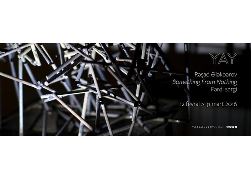 "В Баку пройдет выставка Рашада Алекперова ""Something From Nothing"" <span class=""color_red"">- ФОТО</span>"