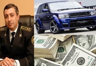 У главного армянского пристава нашли $57 млн. и Range Rover