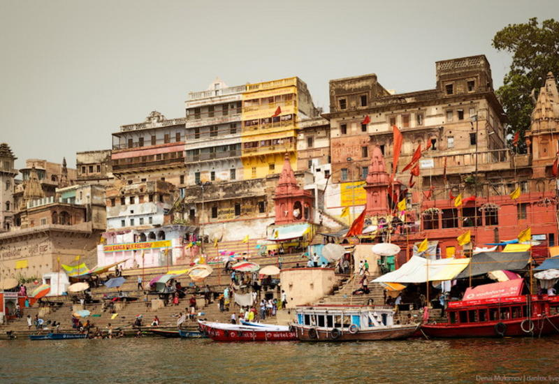 "Шокирующая жизнь Индии: Варанаси - город между двуx рек <span class=""color_red"">- ФОТО</span>"