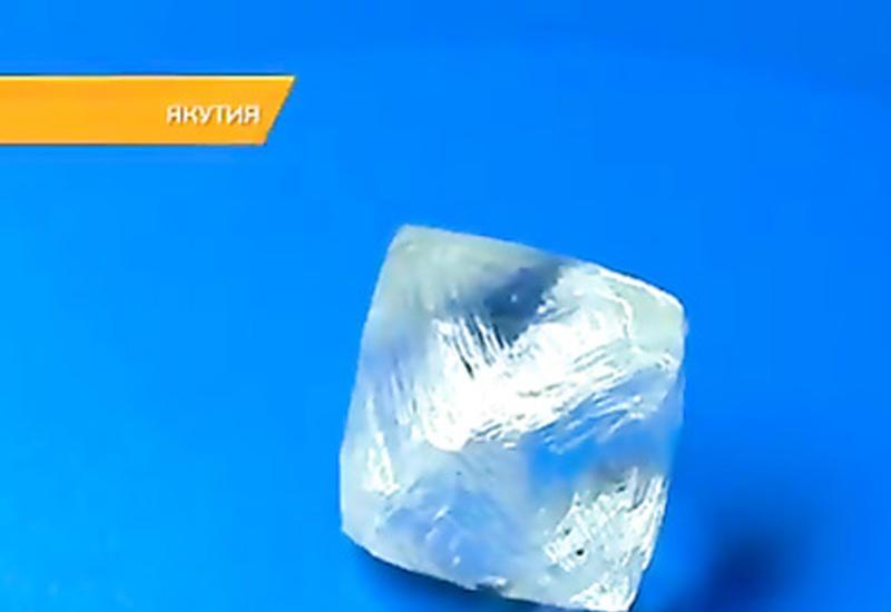 """В Якутии добыли алмаз, стоимостью более 100 млн. <span class=""""color_red"""">- ВИДЕО</span>"""