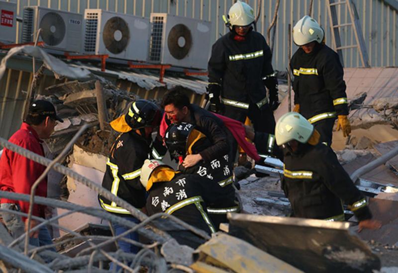 На Тайване больше не ищут жертв мощного землетрясения