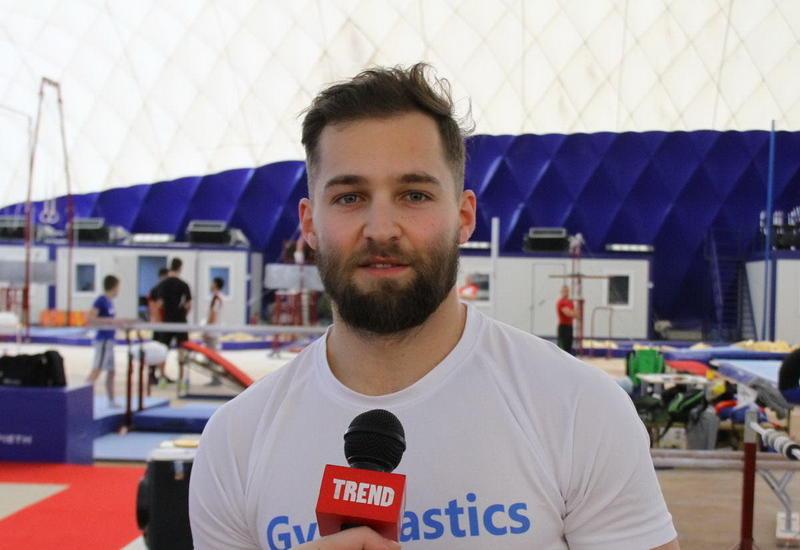 """Израильский гимнаст: Кубок мира в Баку пройдет на высоком уровне, как и Евроигры <span class=""""color_red"""">- ФОТО</span>"""