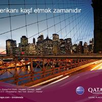 """""""Qatar Airways"""" Azərbaycandakı fəaliyyətini genişləndirir"""