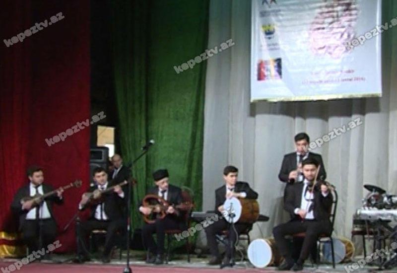 Gəncədə musiqi alətləri festivalı keçirilib