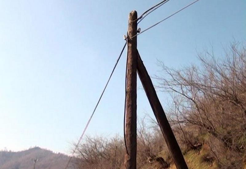 "Воры оставили четыре села Лянкярана без связи и Интернета <span class=""color_red"">- ФОТО</span>"