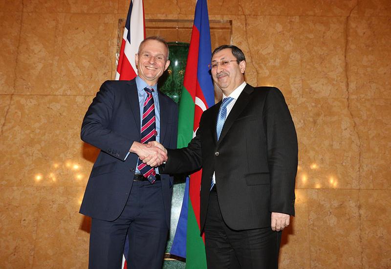 """Британский министр: Мы будем и впредь решительно поддерживать территориальную целостность Азербайджана <span class=""""color_red"""">- ФОТО</span>"""