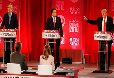 "Трамп и Буш поспорили на теледебатах <span class=""color_red"">- ОБНОВЛЕНО - ВИДЕО</span>"