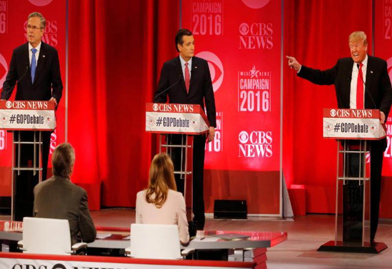 Трамп и Буш поспорили на теледебатах