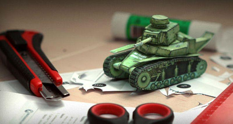 Сделать танк своими руками фото