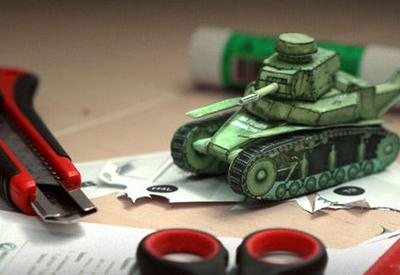 Саргсян испугался картонного танка