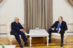Президент Ильхам Алиев принял экс-премьер-министра Иордании