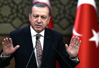 Эрдоган выступил с критикой США