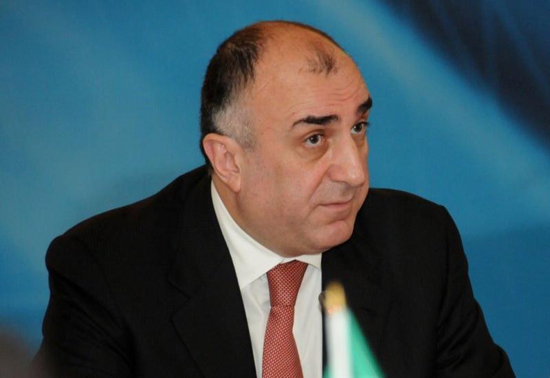 Эльмар Мамедъяров анонсировал встречу с сопредседателями МГ ОБСЕ