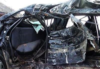 На трассе Баку-Газах водитель сбил семью из трех человек