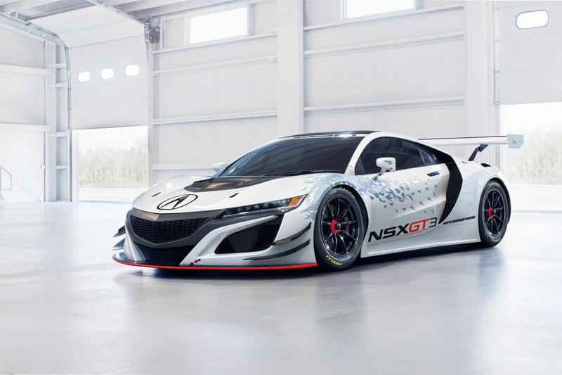 Acura NSX GT3.
