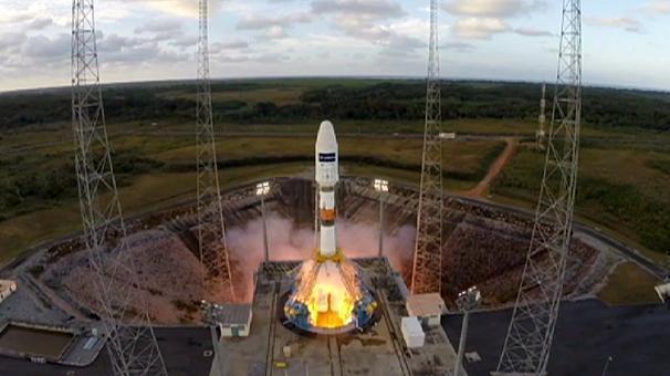 Запуск европейского спутника погут перенести из-за непогоды