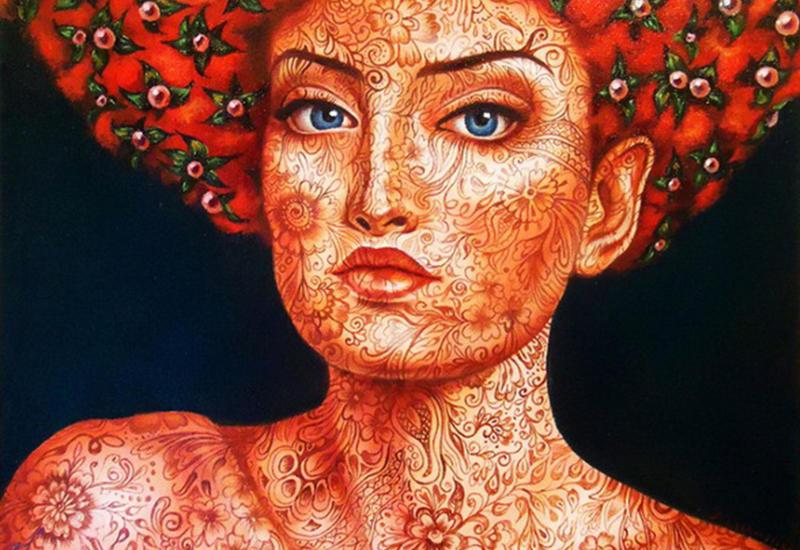 """""""Картинная галерея Day.Az"""": Все краски природы в женском портрете <span class=""""color_red"""">- ФОТО</span>"""