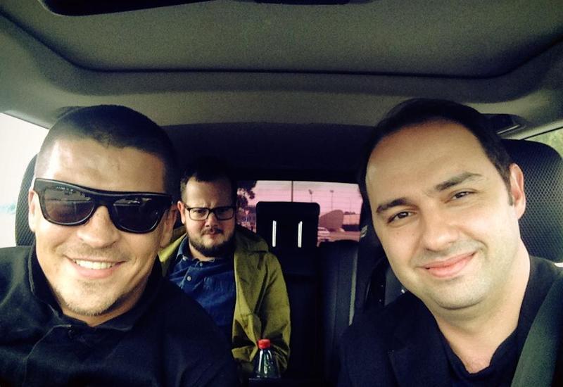 Антон Беляев прилетел в Баку не один
