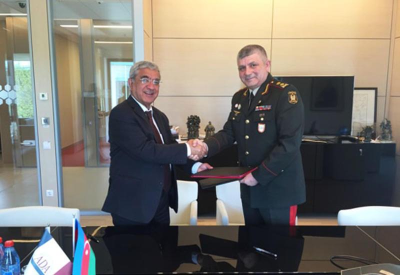 Военная академия ВС Азербайджана и университет ADA подписали соглашение