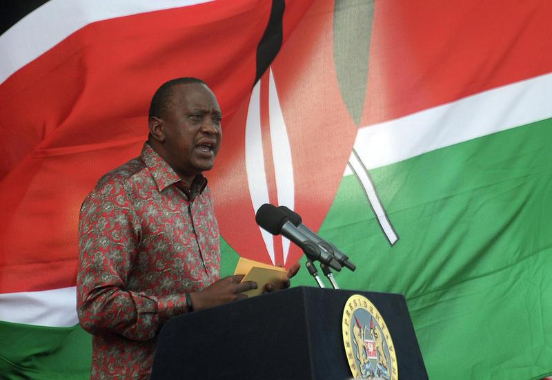 Президент Кении поджег более 100 тонн слоновьих бивней
