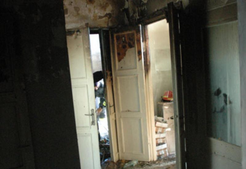 Сильный взрыв в Хачмазе, есть пострадавший