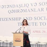 Мехрибан Алиева: Каждый из нас должен стараться в полную силу для восстановления территориальной целостности Азербайджана